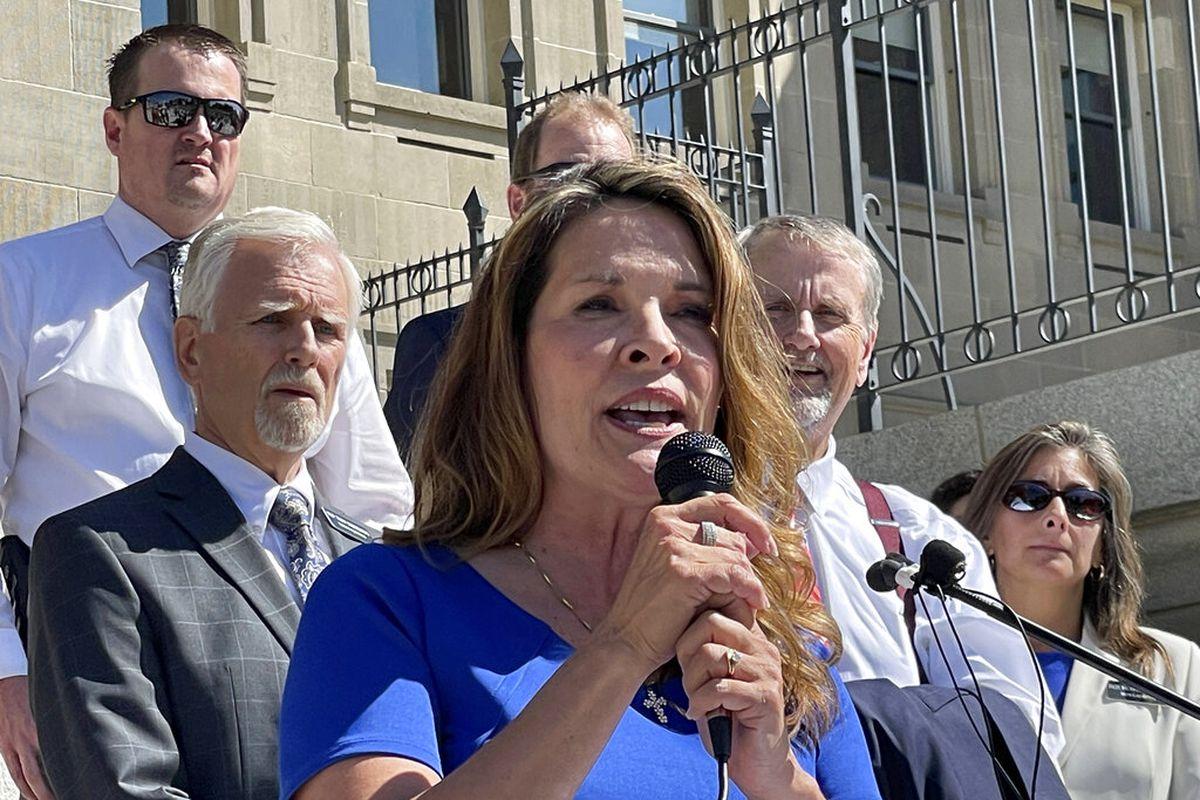 Republican Lt. Gov. Janice McGeachin in Boise, Idaho.