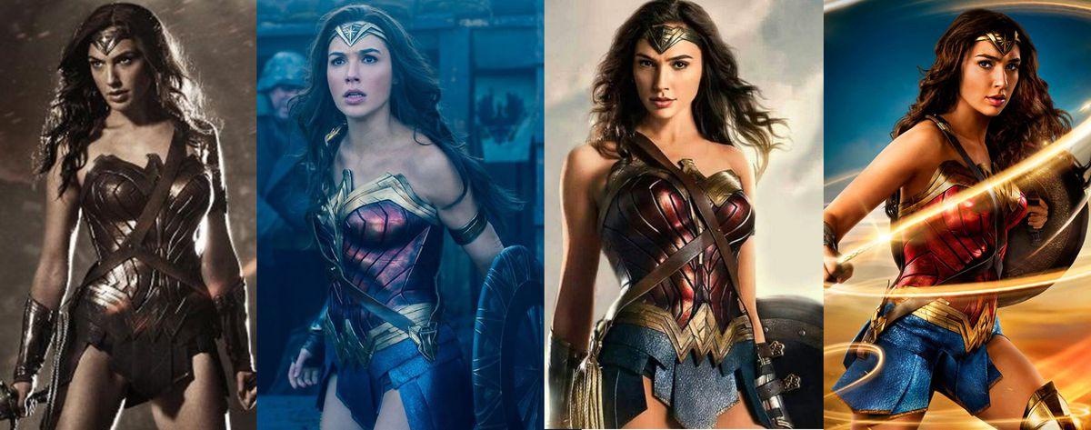 Wonder Womans Costume Has Gotten A Lot Brighter Since Batman V