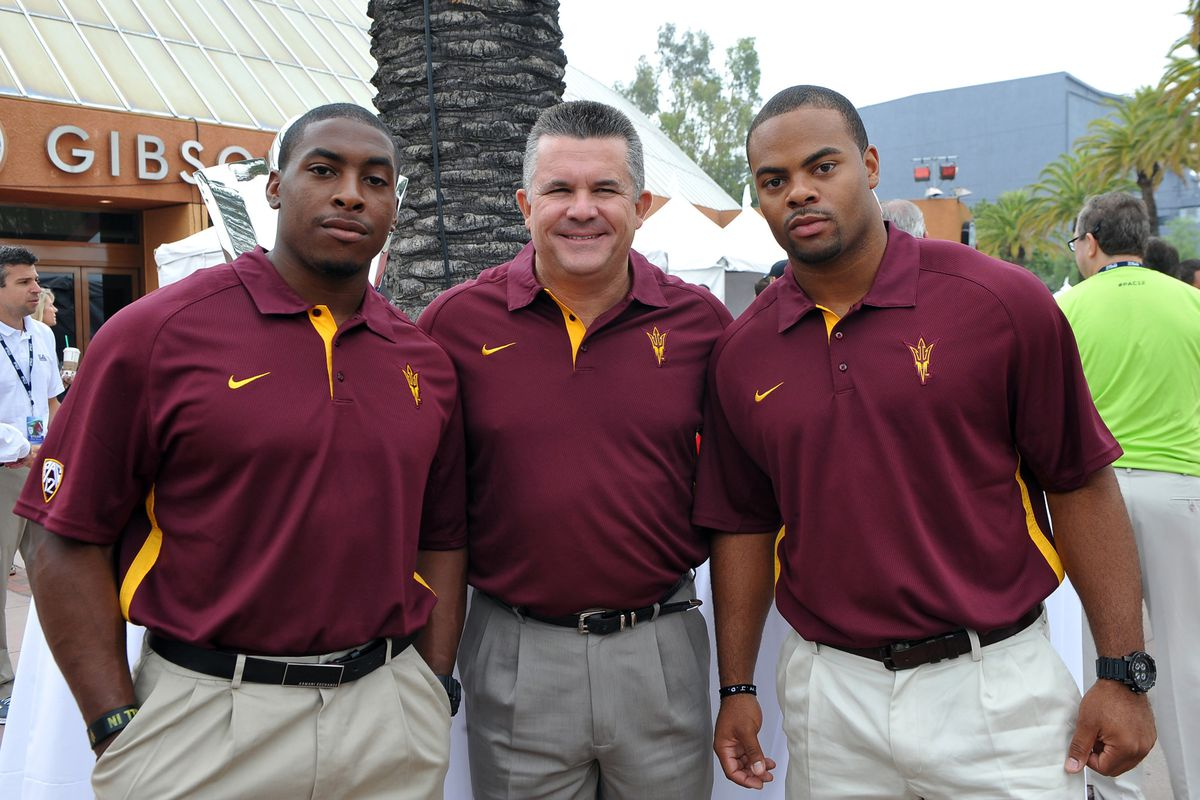 Will Todd Graham and Brandon Magee get some linebacker help from Penn State in 2012? (Mandatory Credit: Jayne Kamin-Oncea-US PRESSWIRE)