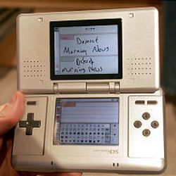 The Nintendo DS will be released in November in the Salt Lake market and will retail for $149.99.