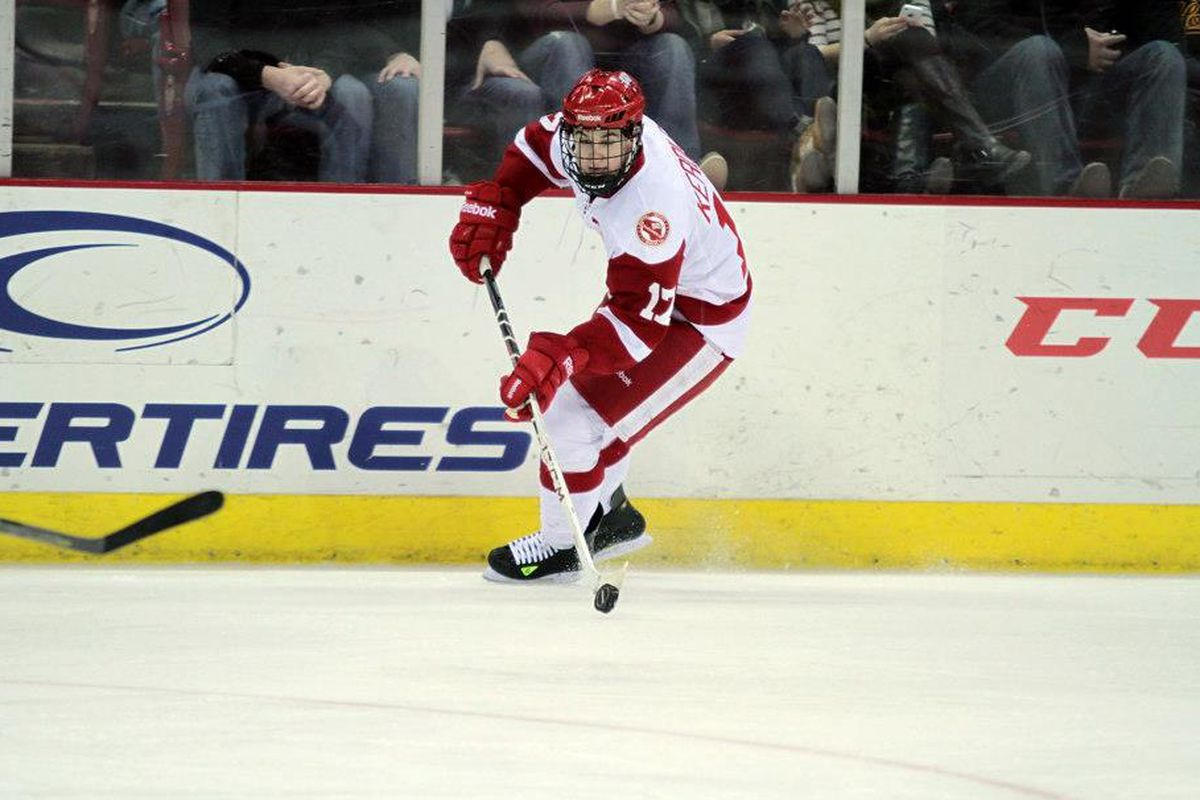 Nic Kerdiles' two point night wasn't enough for the Badgers Friday