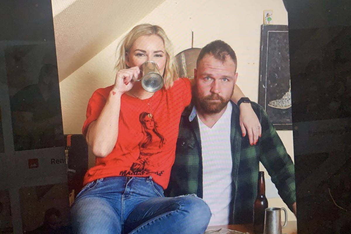 Renee Paquette and Jon Moxley