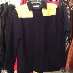 Women's wool coat, $300