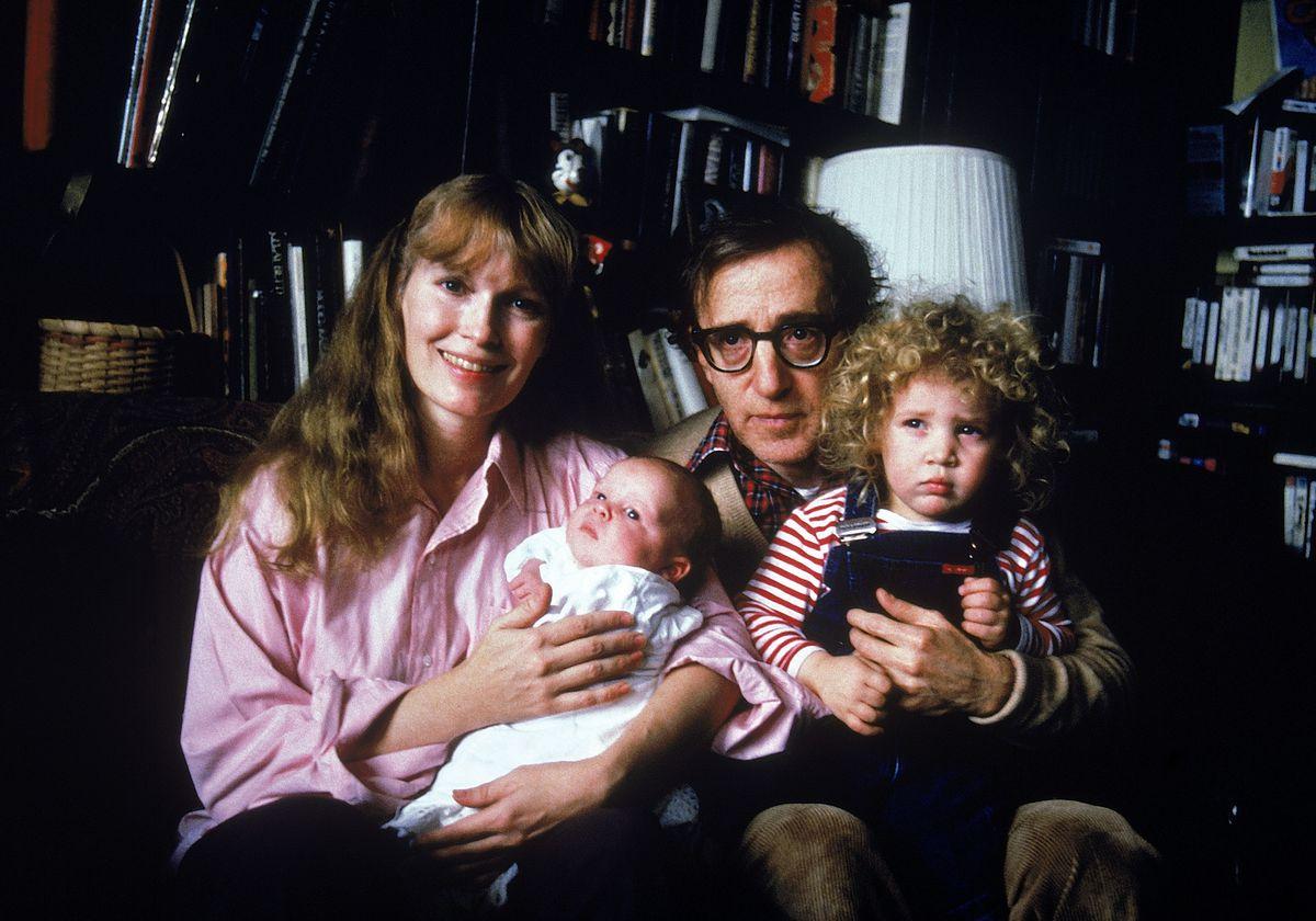 Woody Allen [& Family];Satchel Farrow;Dylan Farrow;Mia Farrow [& Family]