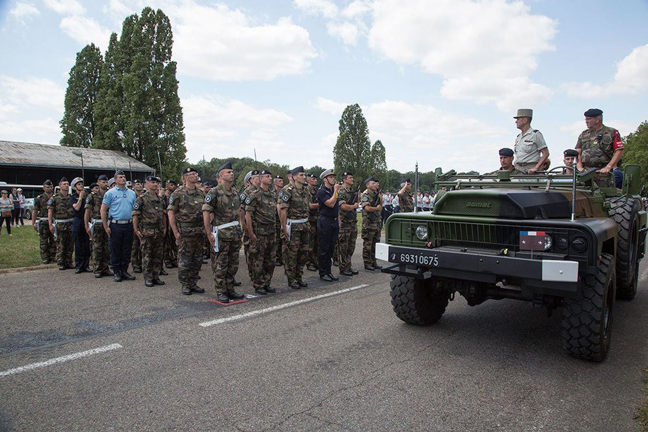 france s cyber command marched in paris s bastille day parade for the first time