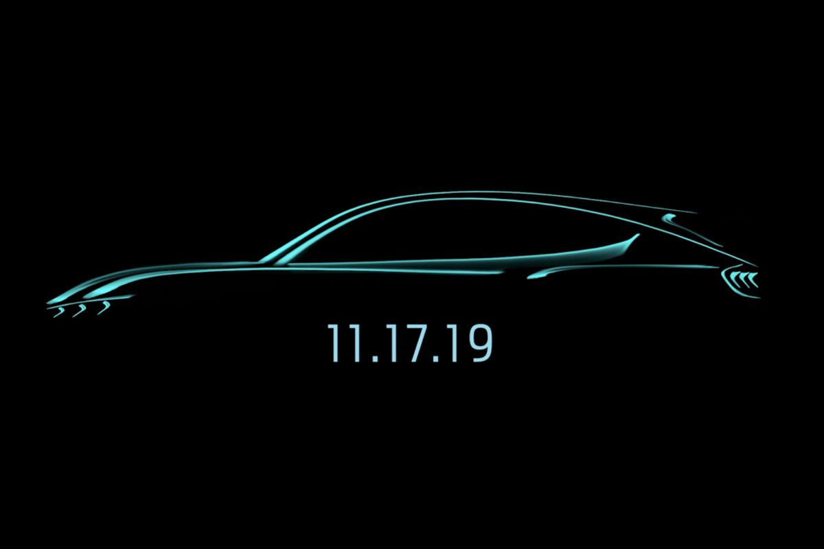 Ford Will Unveil Its Mustang Inspired Electric Suv On