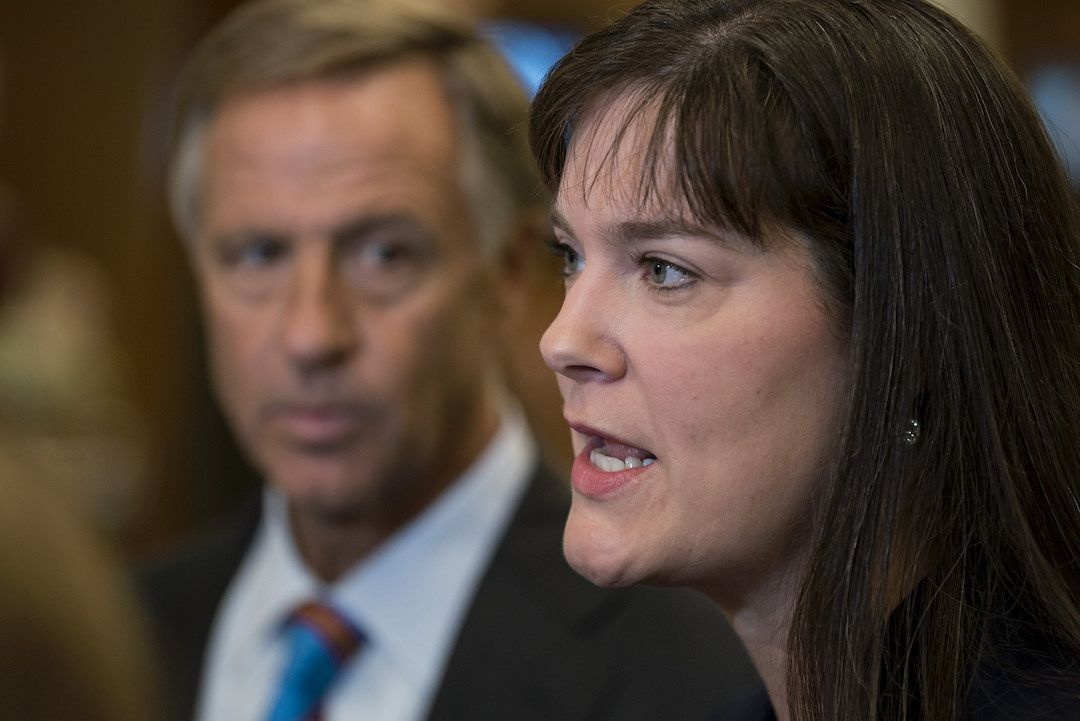 Candice McQueen has been commissioner of education for Republican Gov. Bill Haslam since 2015.