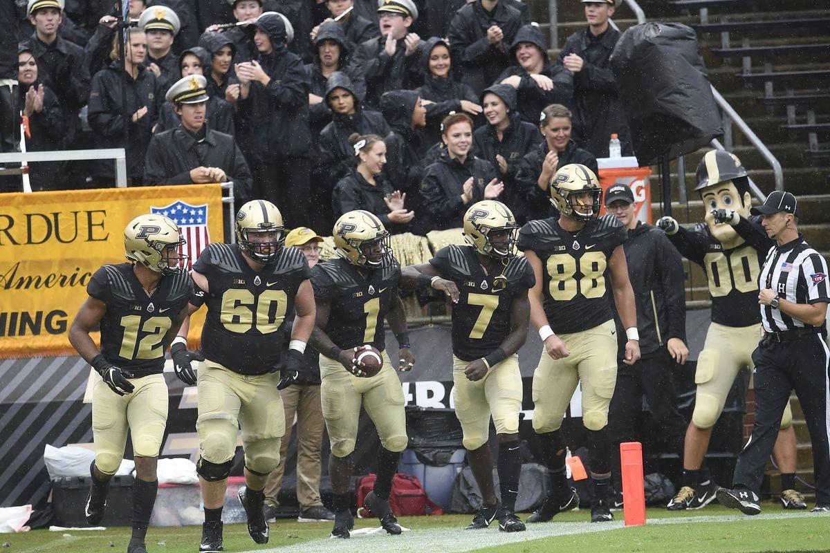 NCAA Football: Eastern Michigan at Purdue