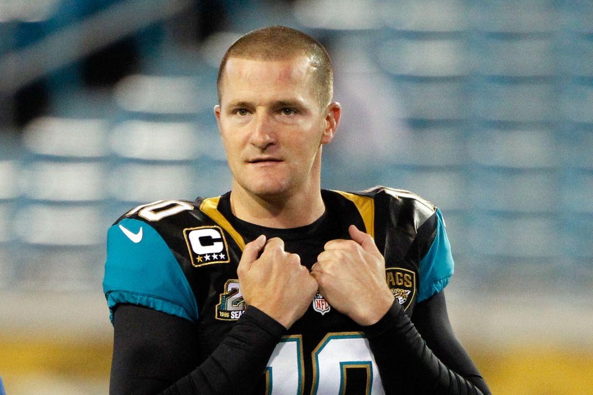 72baeb126 Jaguars trade kicker Josh Scobee to the Steelers