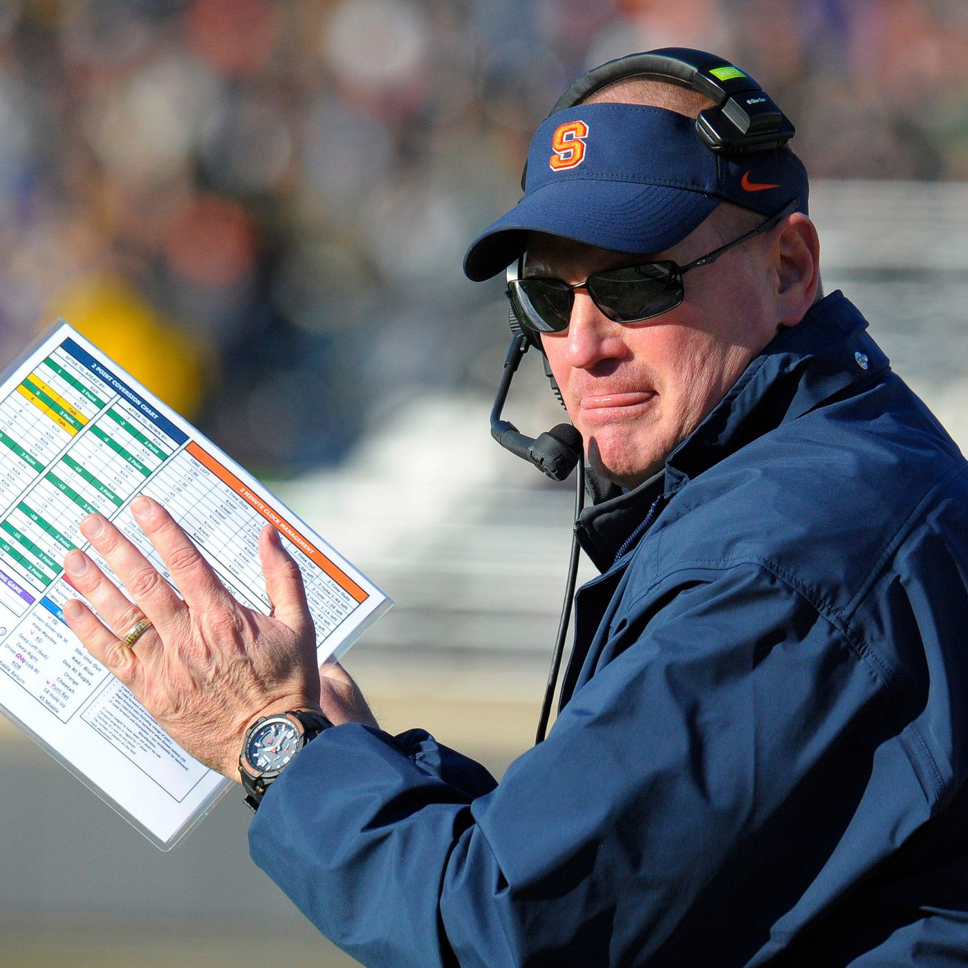 5e0ce61636a0 Scott Shafer on Syracuse s Personnel   Tim Lester s Offense   I Feel Good  About It  - Troy Nunes Is An Absolute Magician