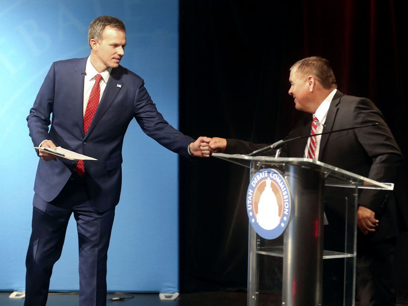 Nasty political bickering? Here's one Utah race where that's not happening