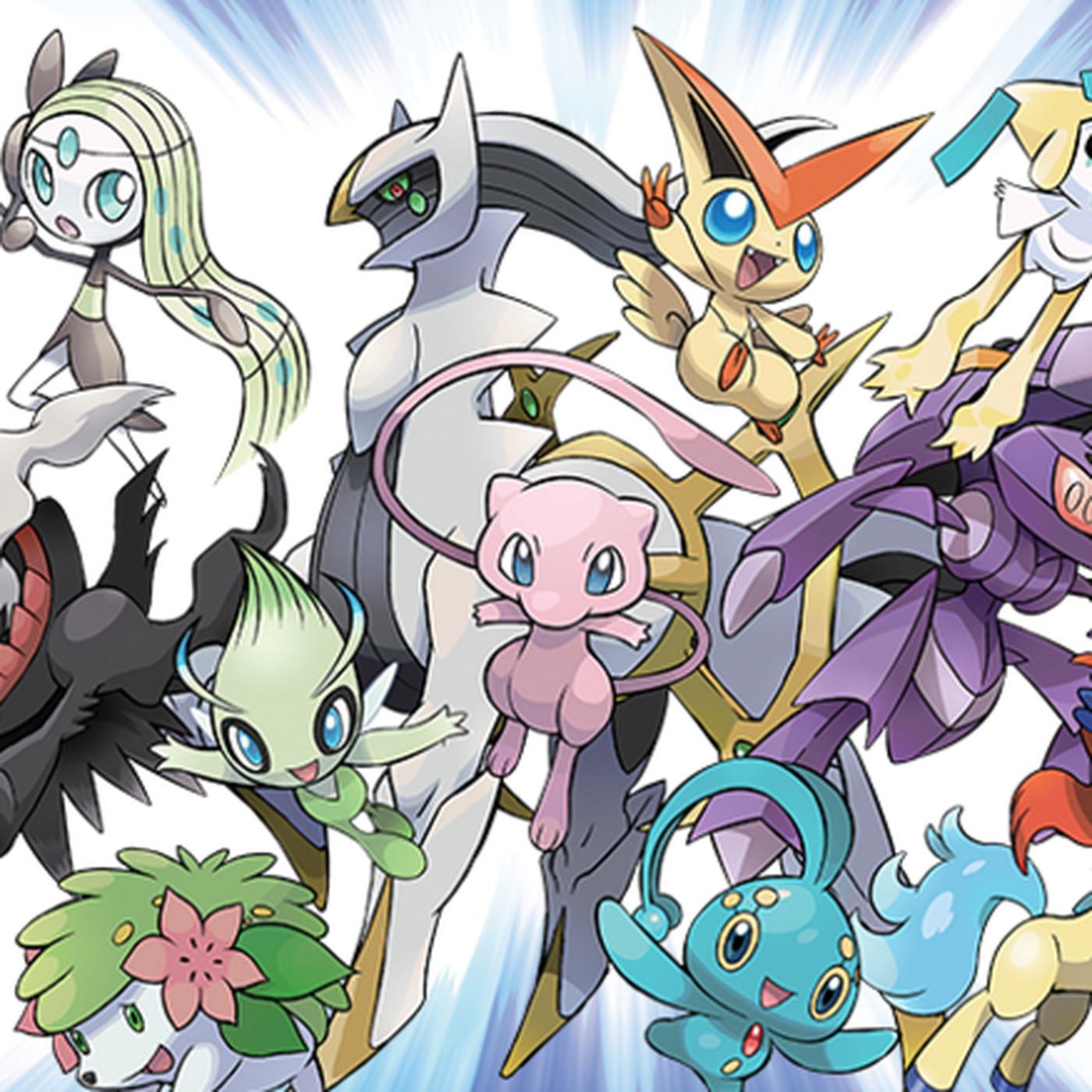 Download Mew and more Pokémon legendaries starting next week