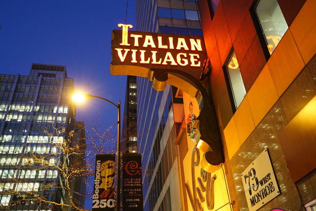 Italian Village Restaurants are located at 71 W. Monroe St.