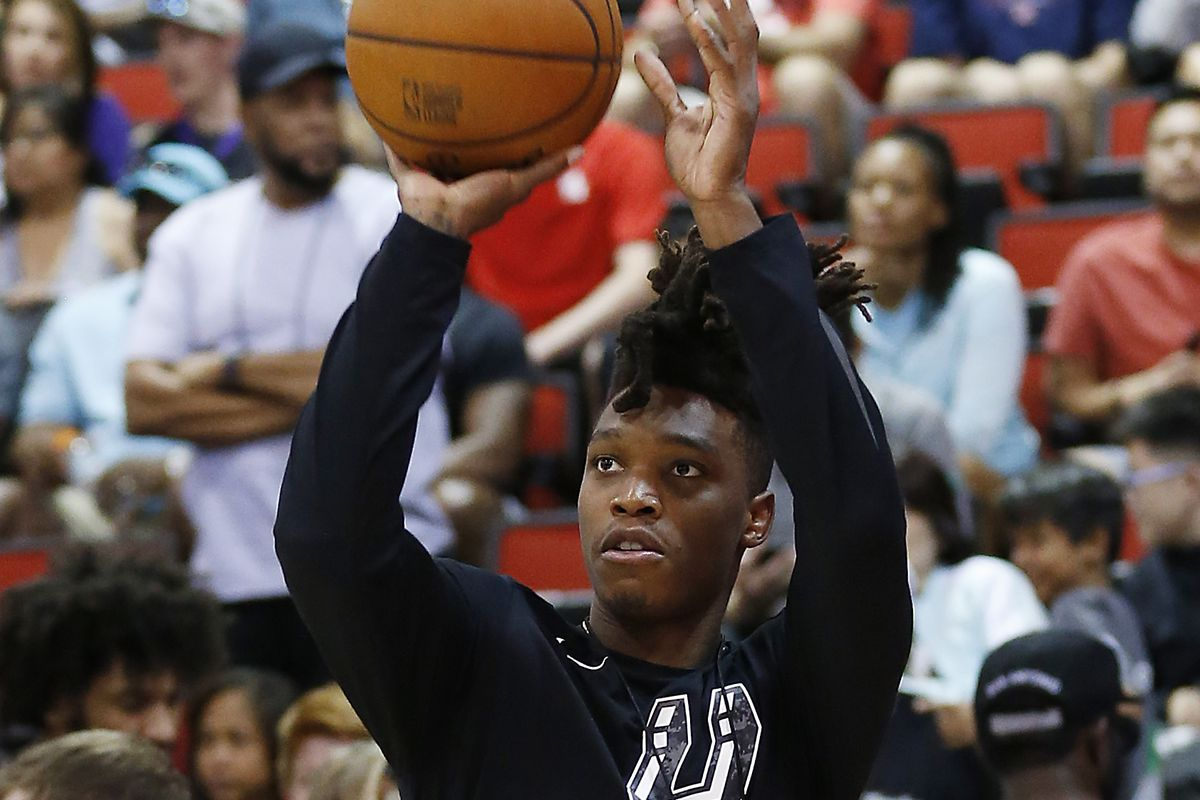 Lonnie Walker knows he'll have to earn playing time with the Spurs