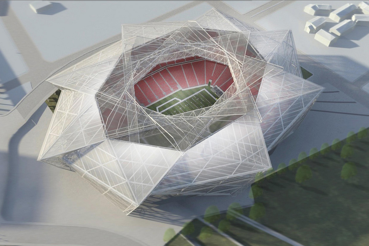Georgia Dome Stadium >> The Stankonia Dome is happening: Atlanta Falcons approve new stadium concept - SBNation.com
