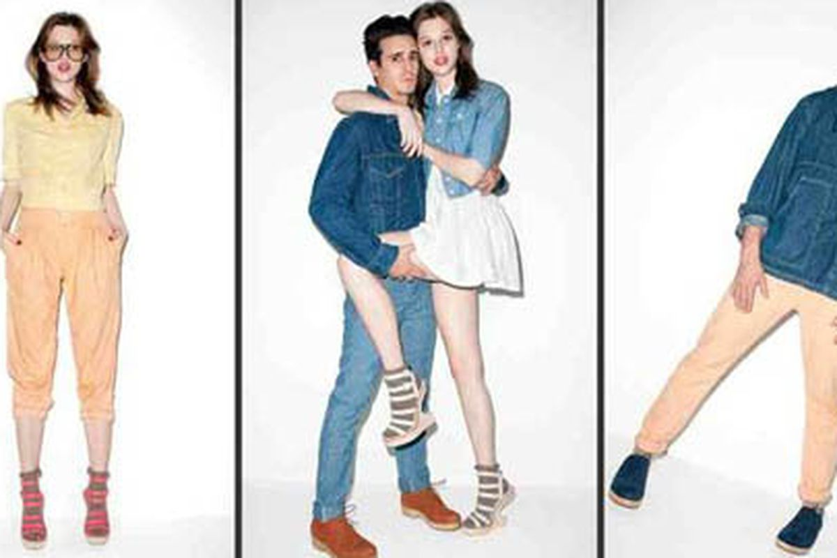 """Opening Ceremony x Levi's lookbook images via <a href=""""http://latimesblogs.latimes.com/alltherage/2011/02/levis-x-opening-ceremony-chambray-collaboration-ss11-ad-campaign-shot-by-terry-richardson.html"""">All the Rage</a>"""