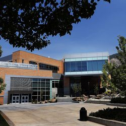 Tracy Hall Science Center at Weber State University in Ogden will open on Wednesday, Aug. 24, 2016. The new building uses geothermal heating and cooling, window placement for daylighting, and LED lighting to save energy.