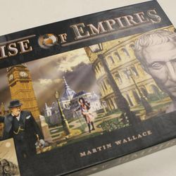 Rise of Empires, from Mayfair Games, is a civilization building game in which two to five players attempt to build the world's greatest civilization.