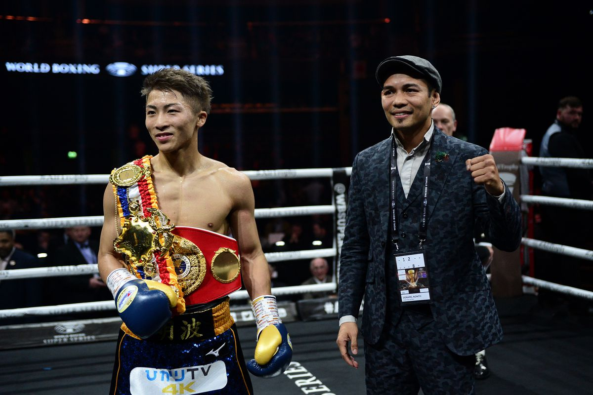 Naoya Inoue Nonito Donaire Looking Forward To Wbss Finals Bad Left Hook