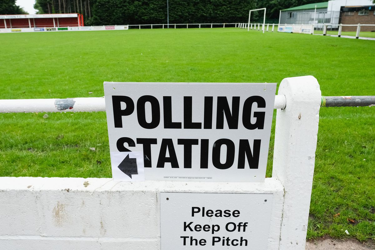 British Voters Go To The Polls In The 2017 General Election