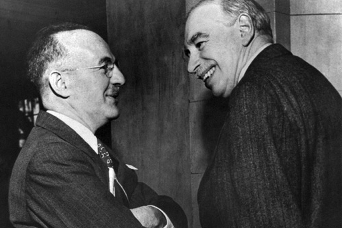 Harry Dexter White and J.M. Keynes