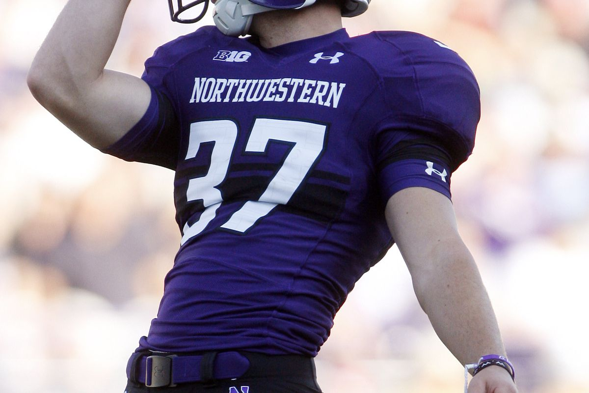 Big things are happening in Evanston. Who was the biggest man on campus this weekend?