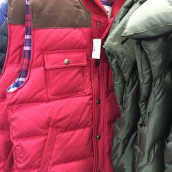 Gant down vest, $93 (from $375)