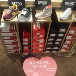 Running with the athleisure trend, shoe retailer DSW sent guests home with kicks from Converse, New Balance, Nike, and more.