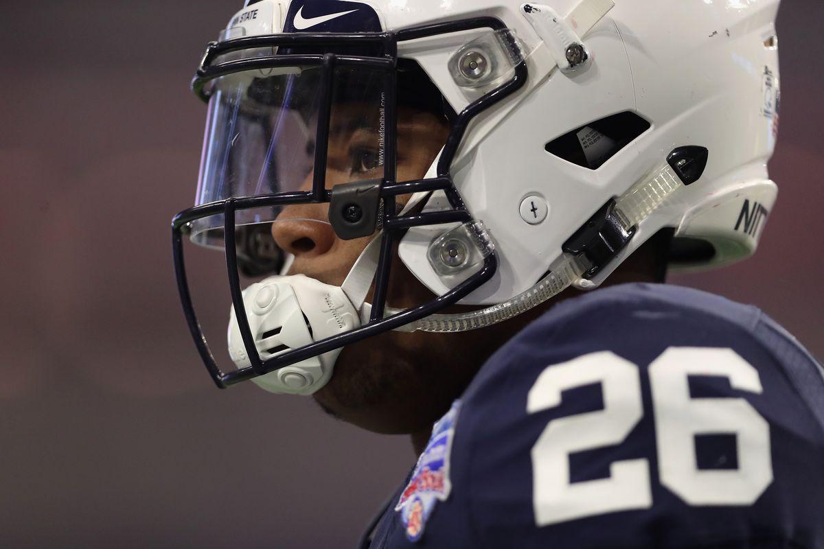b06caa55 2018 NFL Mock Draft: Denver Broncos Select RB Saquon Barkley at No ...