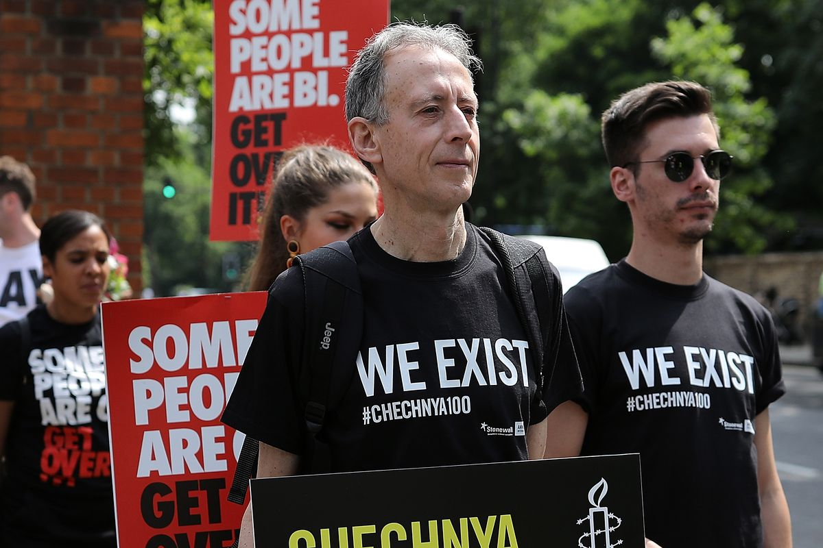 Amnesty Lead Protests Against LGBTI Crackdown In Chechnya