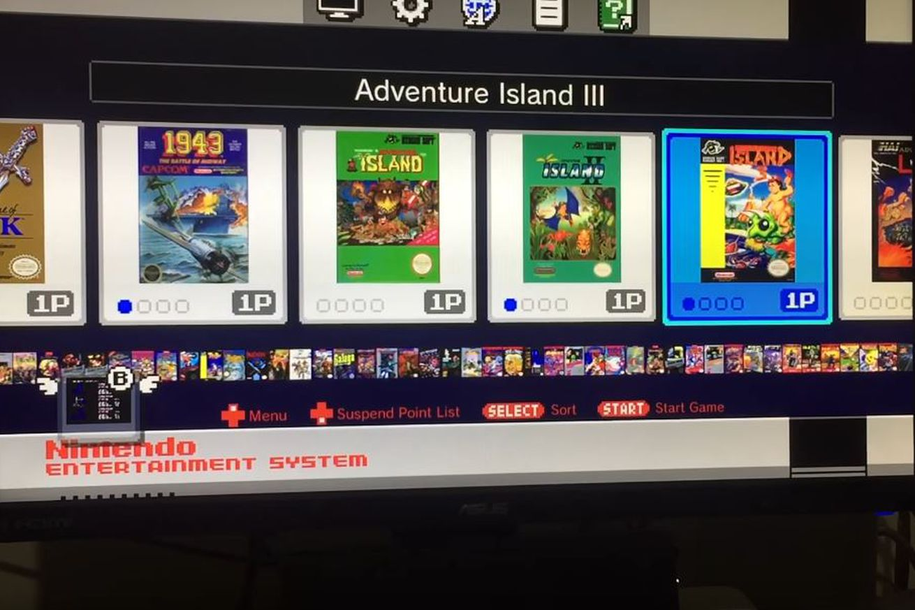 game boy color giochi : Nes Classic Edition Hacked Here S One With 84 Games Loaded On It Polygon
