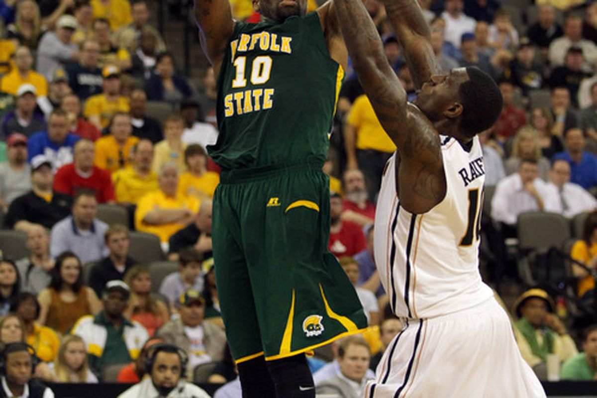 Kyle O'Quinn held his own, but was the best in an o.k. showing for mid-majors in Orlando.