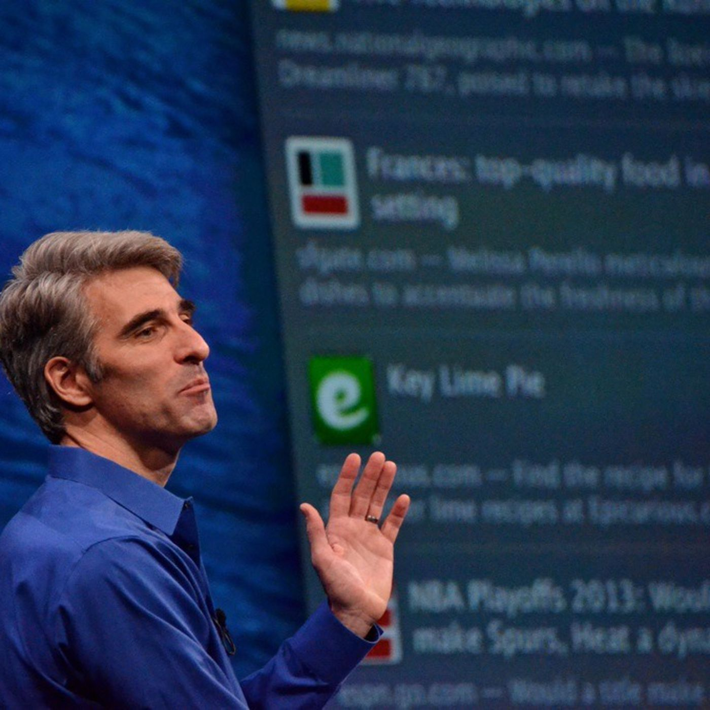 The Rise Of Apple S Craig Federighi The Verge