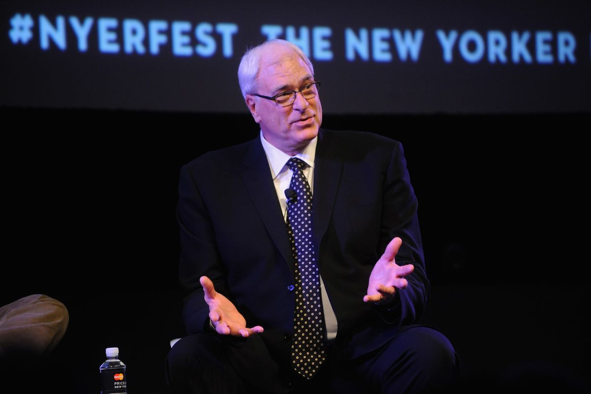 The New Yorker Festival 2014 - Phil Jackson In Conversation With Ben McGrath
