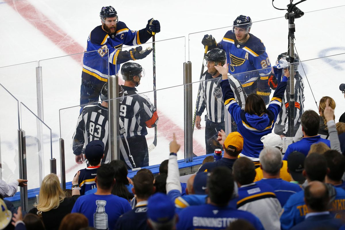 San Jose Sharks v St Louis Blues - Game Three