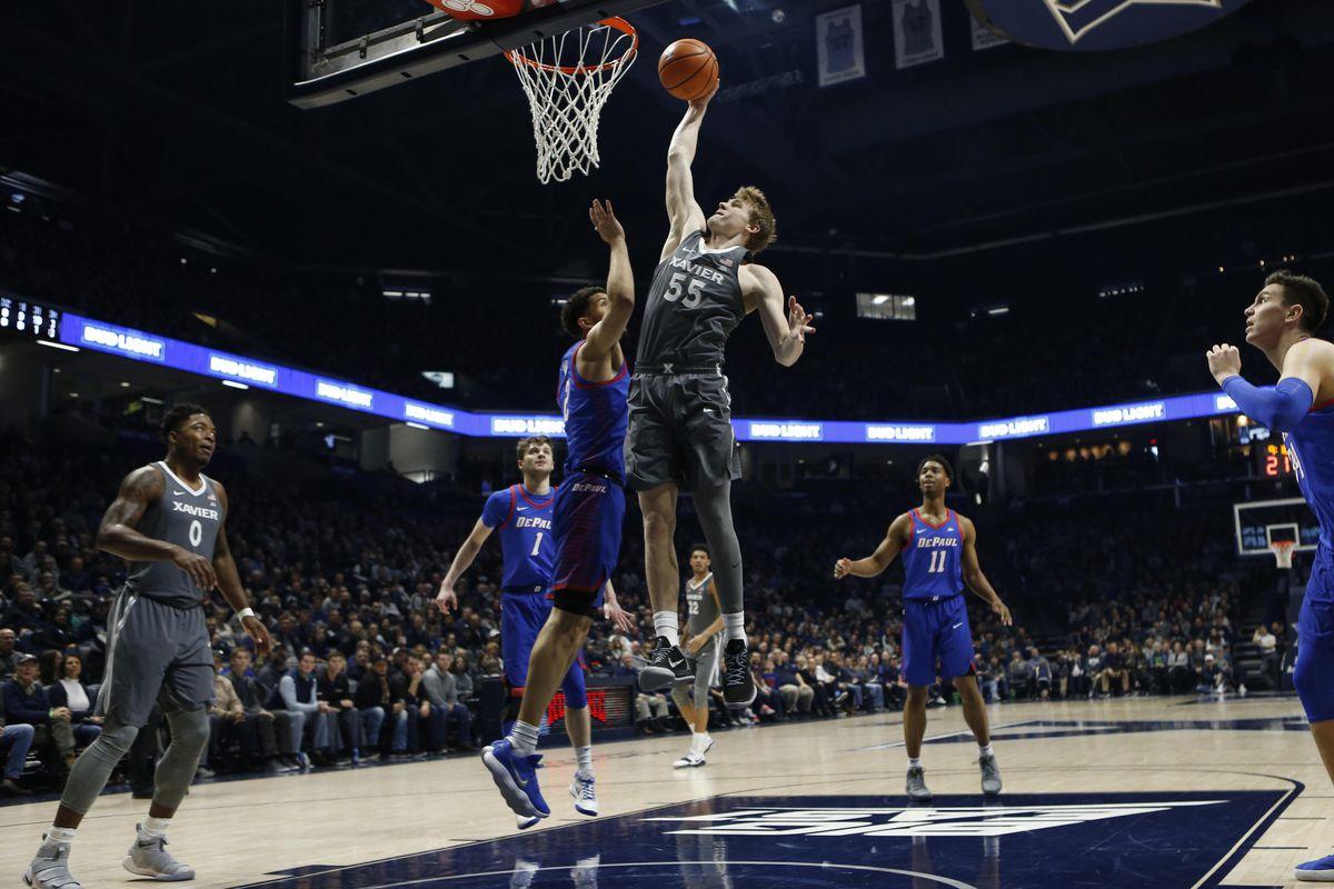 NCAA Basketball: DePaul at Xavier