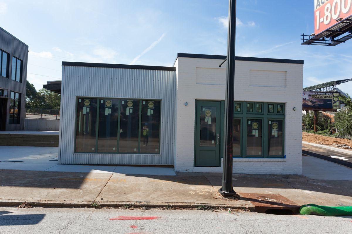 The future home of Hot Dog Pete's on Georgia Avenue in Summerhill