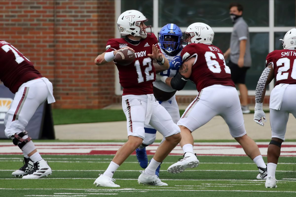 COLLEGE FOOTBALL: OCT 24 Georgia State at Troy