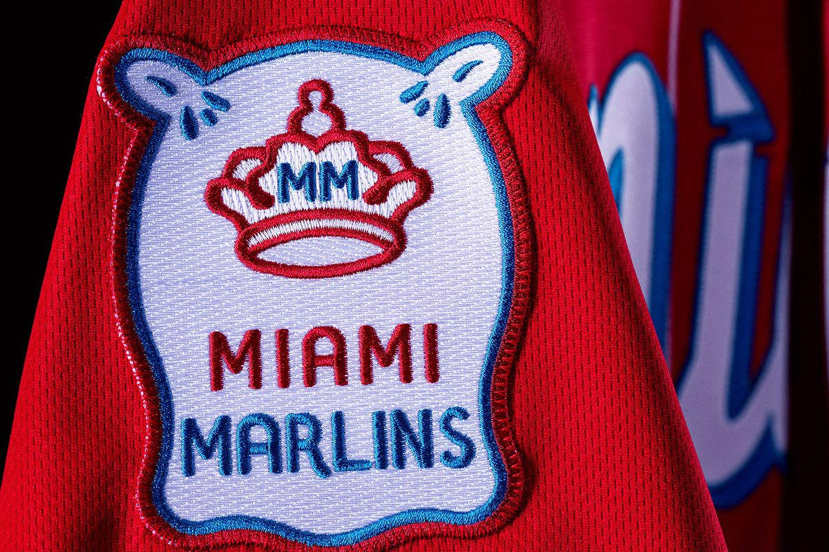 The Marlins on Monday unveiled their new City Connect uniforms, designed in collaboration with Nike