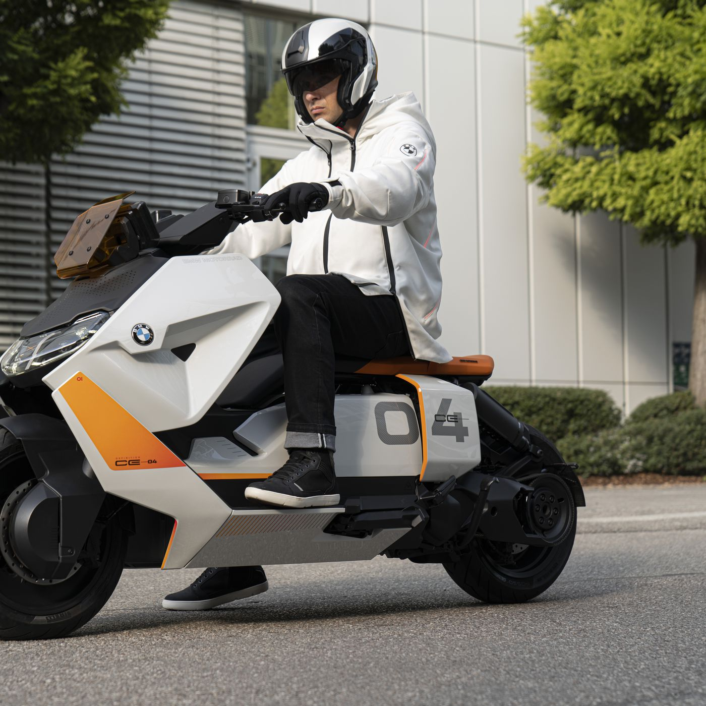 Bmw S New Electric Scooter Concept Aims To Be Your Perfect Cyberpunk Mount The Verge