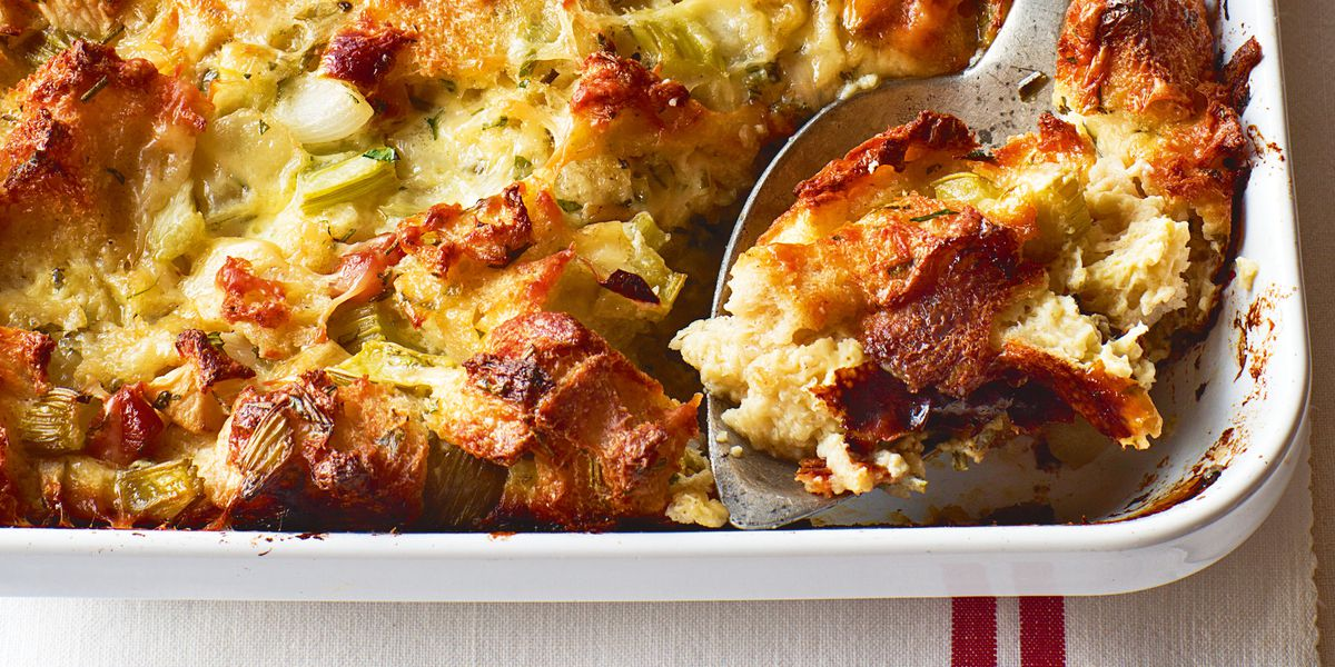 Recipe: Ina Garten's Herb & Apple Bread Pudding