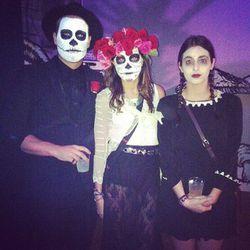 Dia de los Muertos meets Wednesday Addams