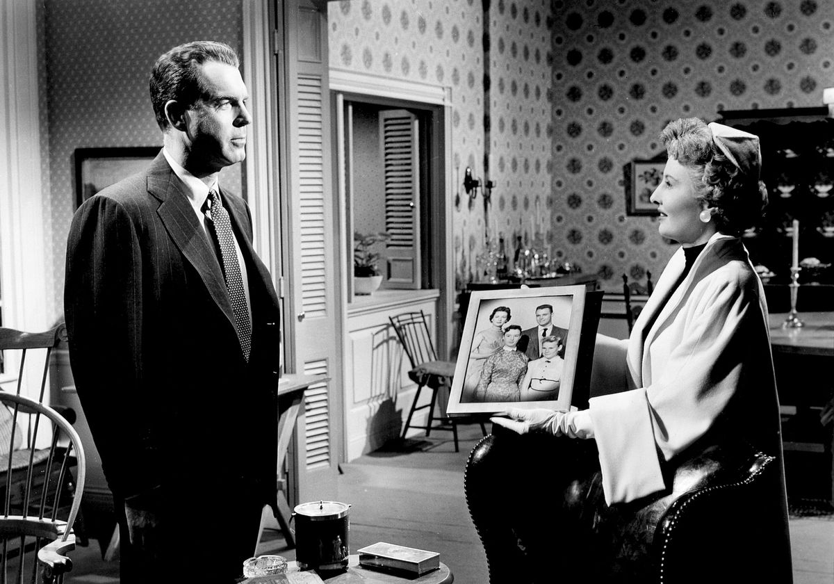 Fred MacMurray and Barbara Stanwyck in There's Always Tomorrow
