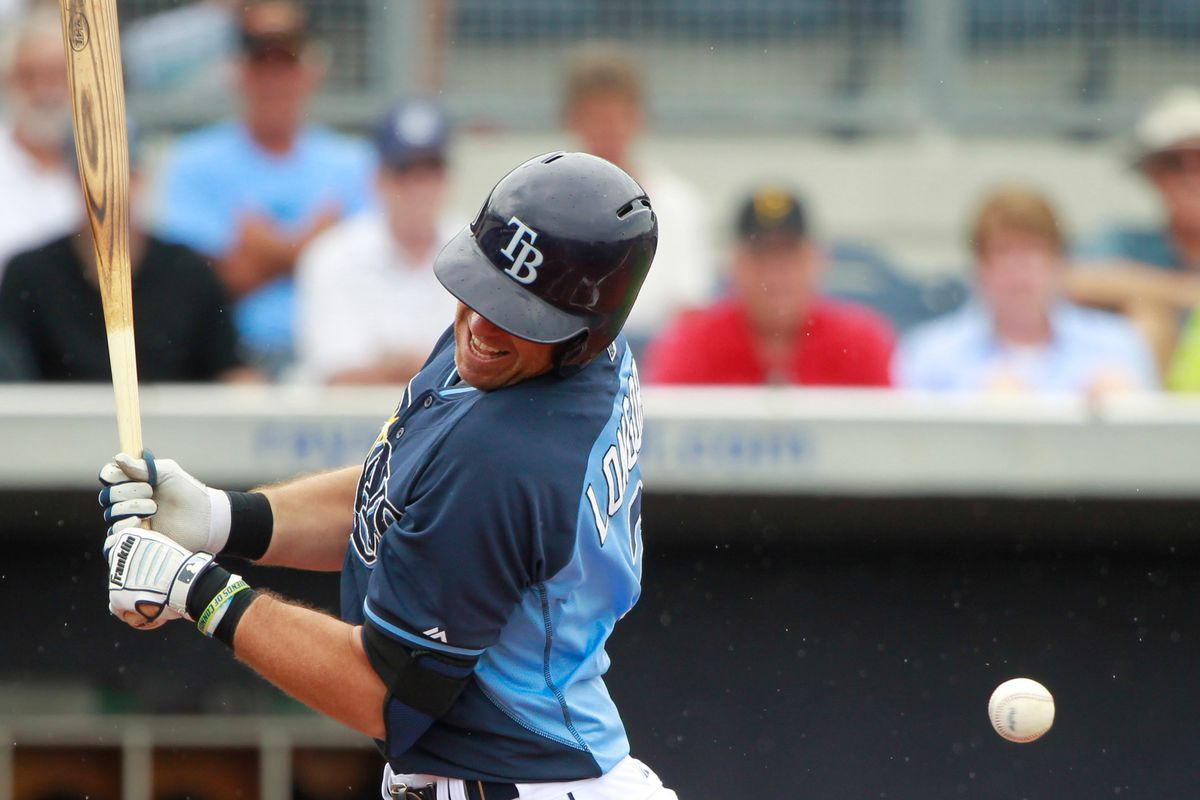 Rays third baseman Evan Longoria should expect to take his licks this season with a young, untested Rays club.