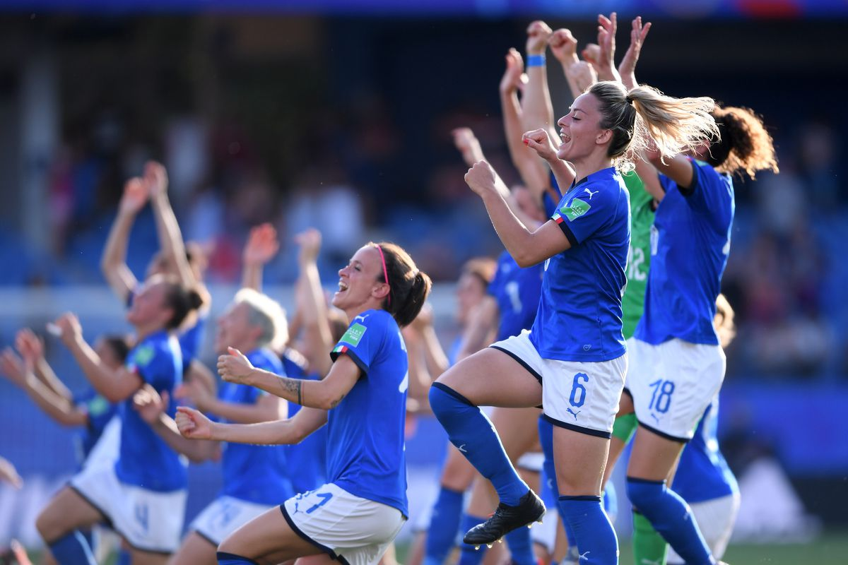 Italy v China: Round Of 16 - 2019 FIFA Women's World Cup France
