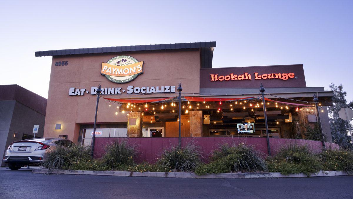 The exterior of a restaurant