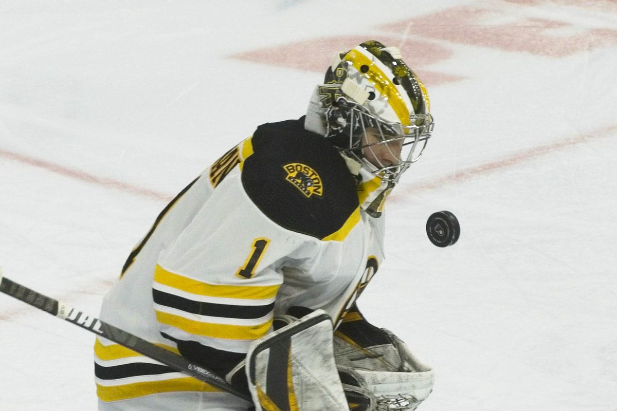 NHL: APR 10 Bruins at Flyers
