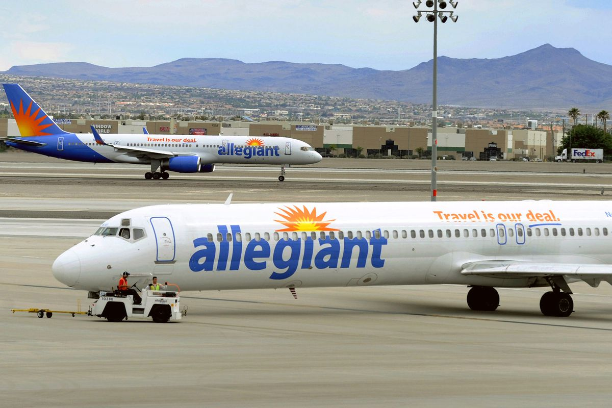 Allegiant Air removed a passenger from a Labor Day flight