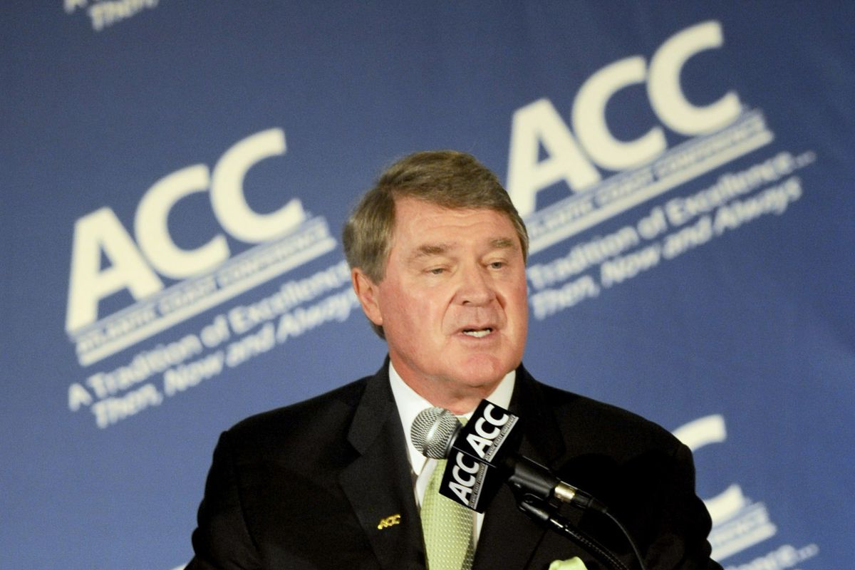 Maryland and the ACC (with its commissioner John Swofford, shown above) are embroiled an an epic legal battle.