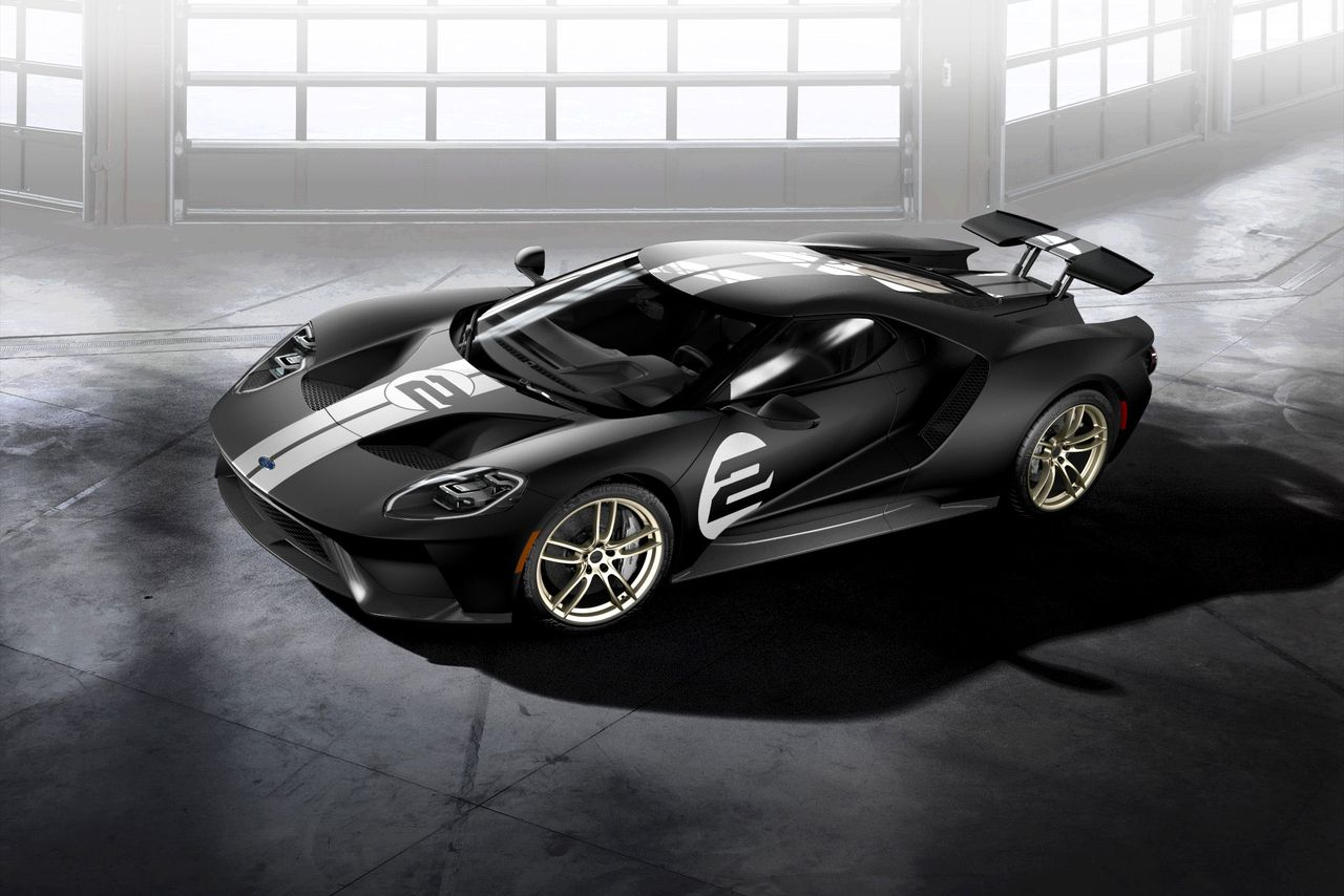 This Throwback Ford Gt Paint Job Is Drop Dead Gorgeous